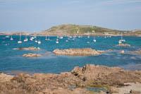 Uitzicht over Braye Harbour, Alderney