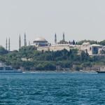 Uitzicht op Sultanahmet
