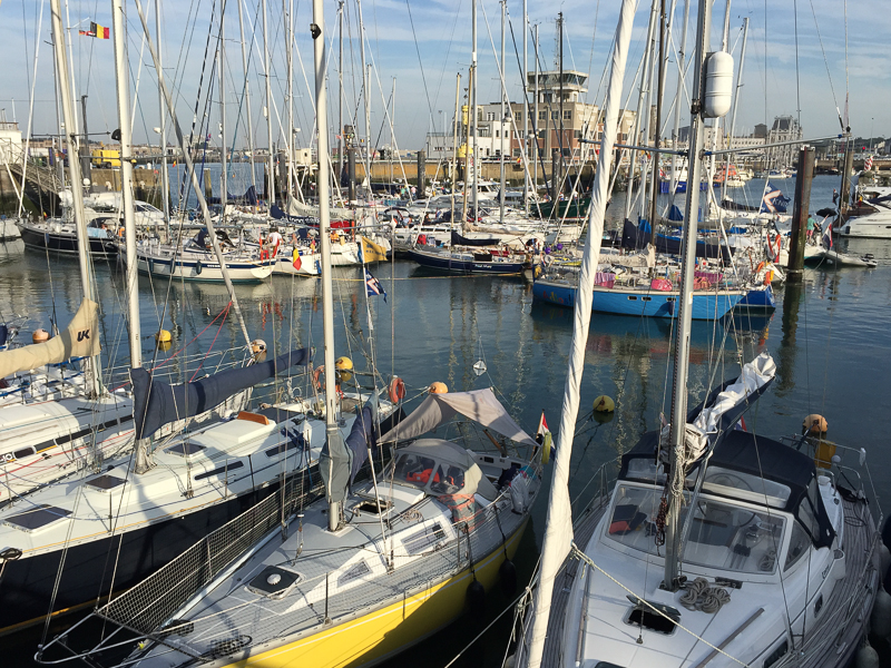 Zoek de Proud Mary ... kleinste bootje in Oostende!