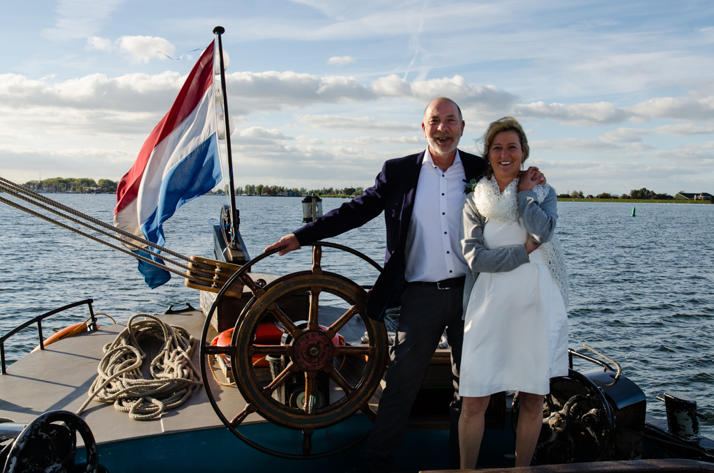 Monnickendam, even varen ná de ceremonie